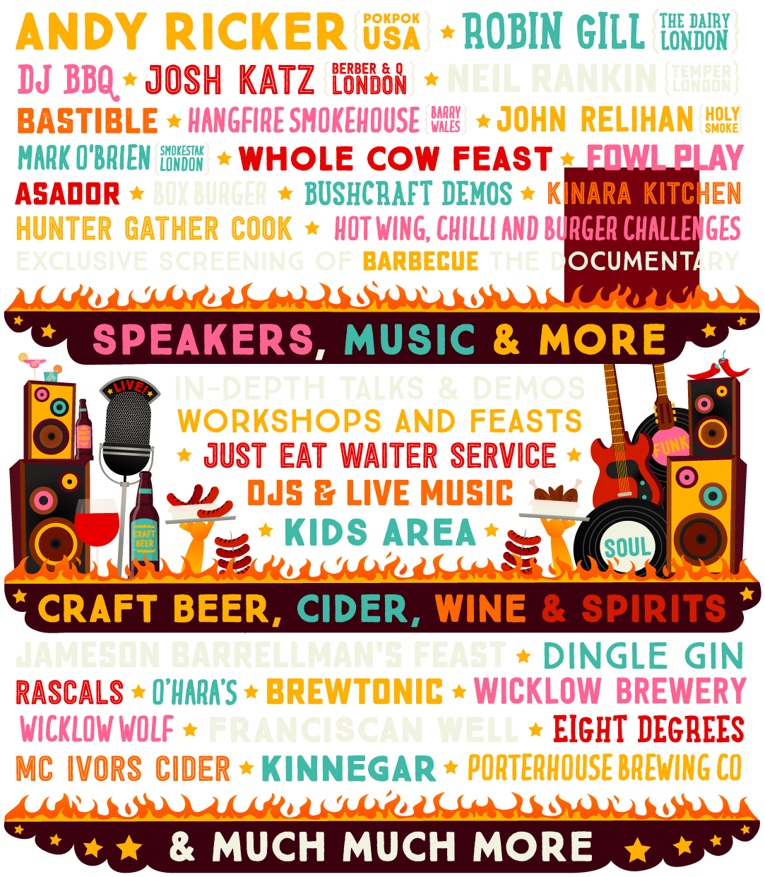 View the line-up!
